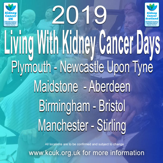 living with kidney cancer days 2019 Square small